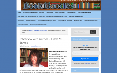 Interview on Book Goodies